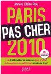 Couv Paris Pas Cher 2010