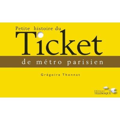 Livre Petite Histoire du métro parisien
