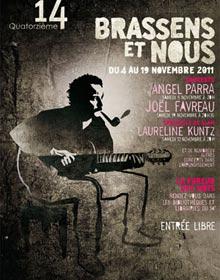 Affiche festival Brassens et nous