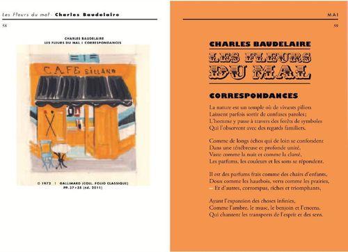 Intérieur du livre Une saison en librairie
